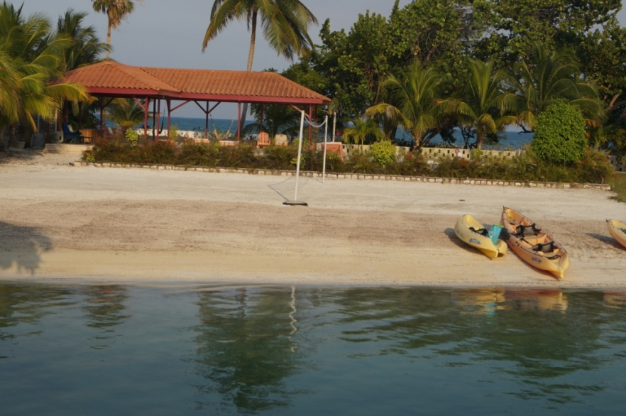 Beach Swimming at St. George's Caye