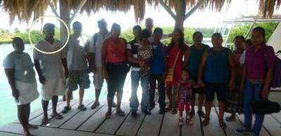 Carlos with SGCR Scholarship Committee & Recipients & their Families